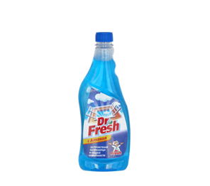 Dr. Fresh window cleaner, refill, blue